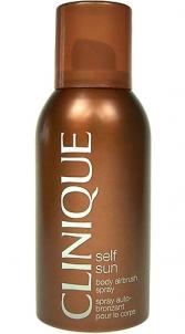 Saulės kremas Clinique Self Sun Body Airbrush Spray Cosmetic 125ml (be dėžutės) Saulės kremai
