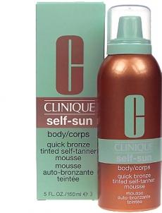 Saulės kremas Clinique Self Sun Body Quick Bronze Cosmetic 150ml Saulės kremai