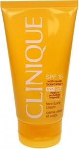 Saulės kremas Clinique SPF15 Face Body Cream Cosmetic 150ml (be dėžutės) Saulės kremai