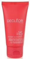 Saulės kremas Decléor Facial Sunscreen SPF 15 Aroma Sun Expert ( Protective Anti-Wrinkle Cream) 50 ml Saulės kremai