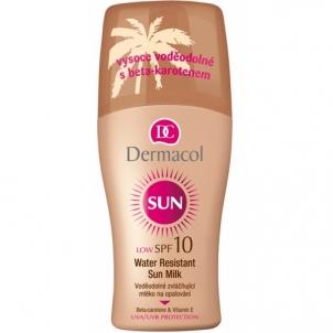 Крем от солнца Dermacol Sun Молоко Спрей SPF10 Косметика  200мл  Крема для солярия,загара, SPF