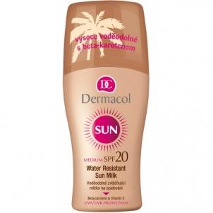 Saulės kremas Dermacol Sun Milk Spray SPF20 Cosmetic 200ml Saulės kremai