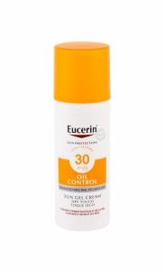 Saulės kremas Eucerin Sun Oil Control Sun Gel Dry Touch Face Sun Care 50ml SPF30 Saulės kremai