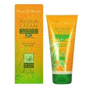 Saulės kremas Frais Monde Acqua Cream Suntan Refreshing Accelerator SPF8 Cosmetic 200ml Saulės kremai