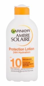Saulės kremas Garnier Ambre Solaire Protection Lotion Low SPF10 Cosmetic 200ml Saulės kremai