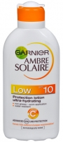 Saulės kremas Garnier Ambre Solaire SPF 10 Protection Lotion Ultra-Hydrating 200ml Saulės kremai