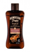 Saulės kremas Hawaiian Tropic Tropical Tanning Oil After Sun Care 200ml SPF4 Saulės kremai