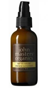 Saulės kremas John Masters Organics SPF30 Natural Mineral Sunscreen Cosmetic 59ml Saulės kremai