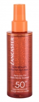 Saulės kremas Lancaster Sun Beauty Dry Oil Fast Tan Optimizer SPF50 Cosmetic 150ml Saulės kremai