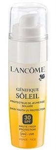 Saulės kremas Lancome Genifique Soleil Protector SPF30 Face Cosmetic 50ml Saulės kremai