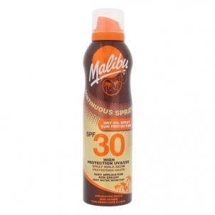Saulės kremas Malibu Continuous Spray Dry Oil Spray SPF30 Cosmetic 175ml Saulės kremai