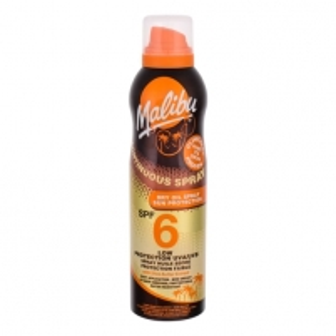 Saulės kremas Malibu Continuous Spray Dry Oil Spray SPF6 Cosmetic 175ml Saulės kremai