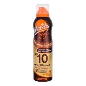 Saulės kremas Malibu Continuous Spray Lotion Spray SPF10 Cosmetic 175ml Saulės kremai