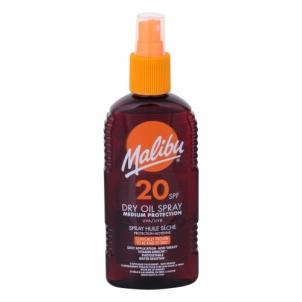 Saulės kremas Malibu Dry Oil Spray SPF20 Cosmetic 200ml Saulės kremai
