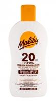 Saulės kremas Malibu Lotion SPF20 Sun Body Lotion 400ml Saulės kremai