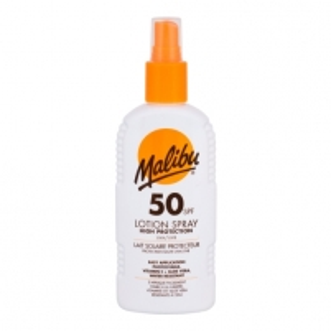 Saulės kremas Malibu Lotion Spray SPF50 Cosmetic 200ml Saulės kremai