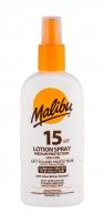 Saulės kremas Malibu Lotion Spray Sun Body Lotion 200ml SPF15 Saulės kremai