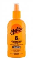 Saulės kremas Malibu Lotion Spray Sun Body Lotion 200ml SPF8 Saulės kremai