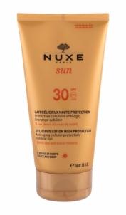 Крем от солнца NUXE Вкусные Sun Лосьон Высокая степень защиты SPF 30 Косметика 150мл Крема для солярия,загара, SPF