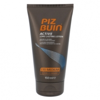 Saulės kremas Piz Buin Active Long Lasting Lotion SPF15 Cosmetic 150ml