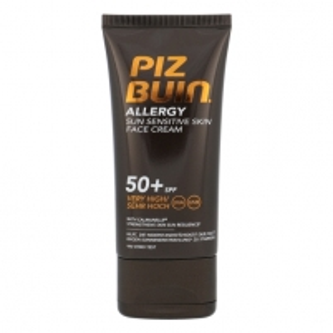 Saulės kremas Piz Buin Allergy Sun Sensitive Skin Face Cream SPF50 Cosmetic 50ml Saulės kremai
