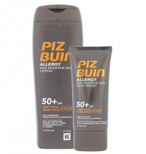 Saulės kremas Piz Buin Allergy Sun Sensitive Skin Lotion SPF50+ Kit Cosmetic 250ml Saulės kremai