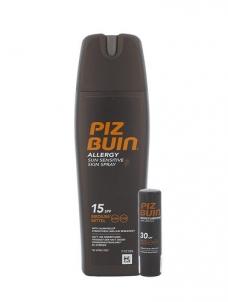Saulės kremas Piz Buin Allergy Sun Sensitive Skin Spray SPF15 Kit Cosmetic 204,9ml Saulės kremai