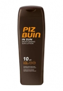 Sun cream Piz Buin In Sun Moisturising Lotion SPF10 Cosmetic  200ml  Sun creams
