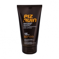 Saulės kremas Piz Buin Instant Glow Sun Lotion SPF15 Cosmetic 150ml For a natural sunbathing process