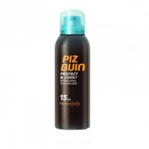 Saulės kremas Piz Buin The cool foam lotion SPF 15 Protect & Cool (Refreshing Sun Moussa) 150 ml