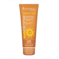 Sun Cream Rimmel London Sun Shimmer Instant Tan  Light Shimmer  125мл Крема для солярия,загара, SPF