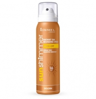 Sun Cream Rimmel London Sun Shimmer Bronzing Spray  kosmētikas  100ml. Saules krēmi