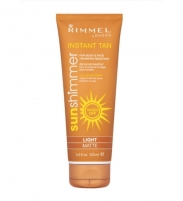 Sun Cream Rimmel London Sun Shimmer Instant Tan  Light Matte  125ml Saules krēmi