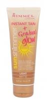 Saulės kremas Rimmel London Sun Shimmer Instant Tan Matte Cosmetic 125ml Light Matte Saulės kremai