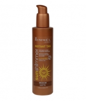 Sun Cream Rimmel London Sun Shimmer Instant Tan Maxi Cosmetic Matte Medium 225ml Saules krēmi
