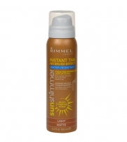Sun Cream Rimmel London Sun Shimmer Instant Tan Light Water Resistant Matte 100ml Saules krēmi