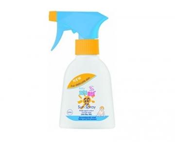 Saulės kremas Sebamed Children´s sun spray SPF 50 Baby(Sun Spray) 200 ml Saulės kremai