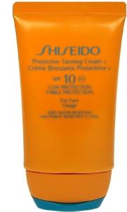 Saulės kremas Shiseido 10 Protective Tanning Cream SPF10 Cosmetic 50ml Saulės kremai