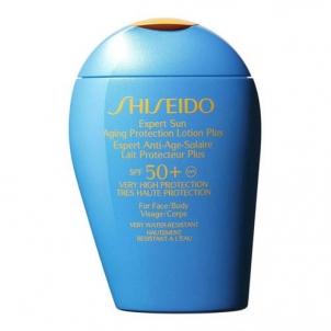 Saulės kremas Shiseido Expert Sun Protection Lotion Plus SPF50 Cosmetic 100ml Saulės kremai
