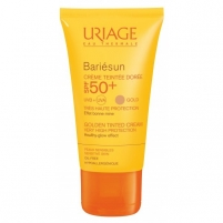 Saulės kremas Uriage (Golden Tinted Cream) Sunscreen SPF 50+ Bariésun 50 ml Saulės kremai