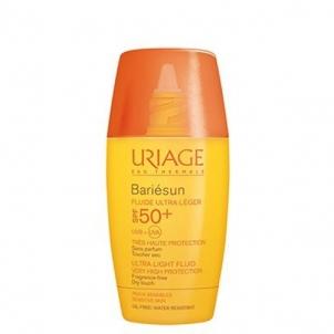 Saulės kremas Uriage Sunscreen Ultrafine Fluid Cream SPF 50+ Bariésun ( Ultra Light Fluid Very High Protection) 30 ml Saulės kremai