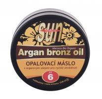 Saulės veido losjonas Vivaco Sun Argan Bronz Oil Face 200ml SPF6 Saules krēmi