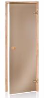 Saunos durys 8x20 SCAN bronze Durys (vidaus, lauko)