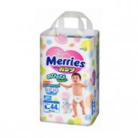 Sauskelnės MERRIES PL 9-14kg 44vnt. Kūdikių higienos prekės, sauskelnės