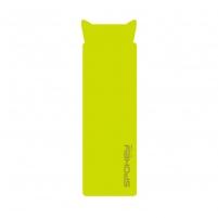 Savaime prisipučiantis čiužinys su pagalve SAVORY PILLOW, Žalia