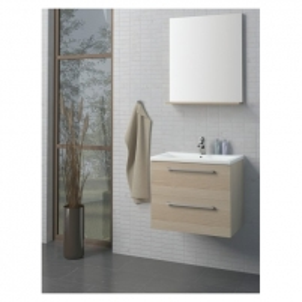 Scandic veidrodinė spintelė 80cm Vonios spintelės