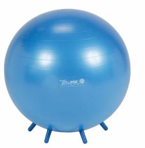 Sėdėjimo kamuolys 65 cm, mėlynas