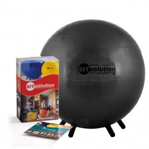 Sėdėjimo kamuolys Original PEZZI Sitsolution Standard 55 cm Black