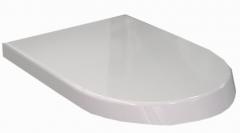 Sėdynė klozeto Roca Nexo WC su dangčiu softclose, balta