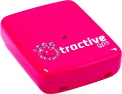 Sekiklis Tractive GPS TRAPI1 Pink Edition